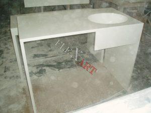 Стол со встроенной раковиной