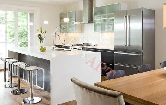 Дизайн искусственного камня на кухне