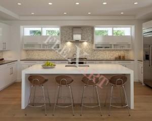 Обеденный стол для кухни из искусственного камня