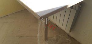 Ножка стола с подоконником