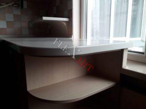 Толщина столешницы - 40 мм