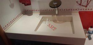 Визуально толщина столешницы увеличена до 150 мм
