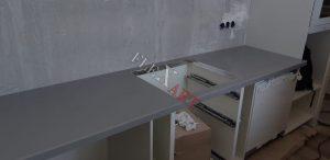 Вырез в столешнице под индукционную панель